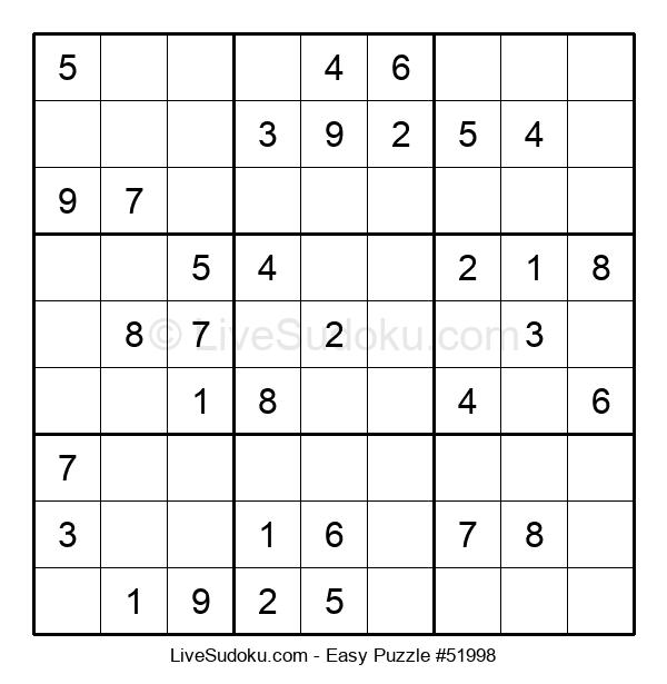 Beginners Puzzle #51998