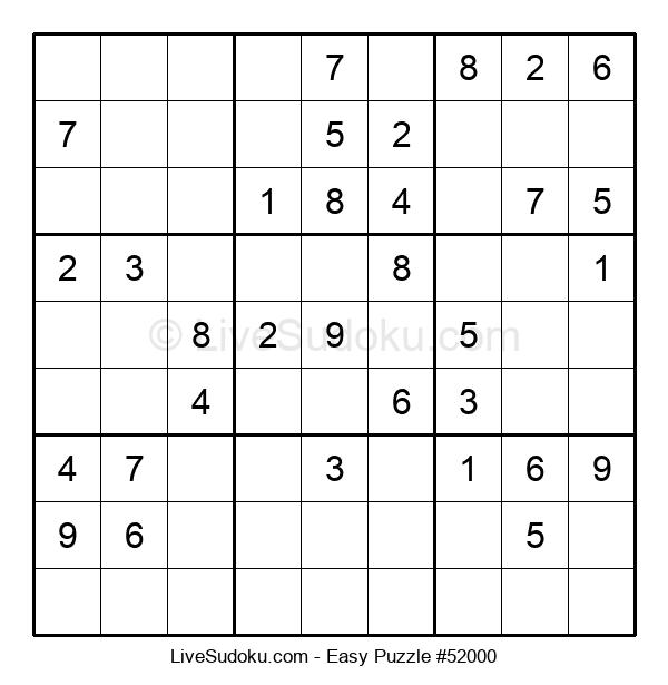 Beginners Puzzle #52000