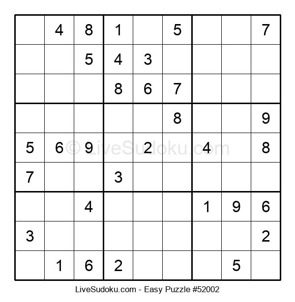 Beginners Puzzle #52002