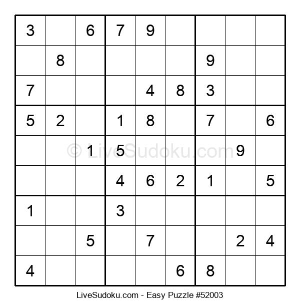 Beginners Puzzle #52003