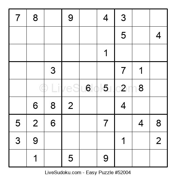Beginners Puzzle #52004