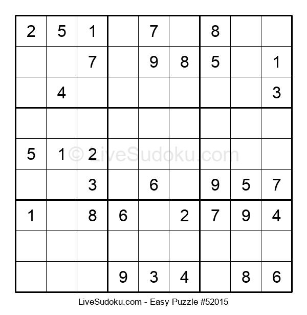 Beginners Puzzle #52015