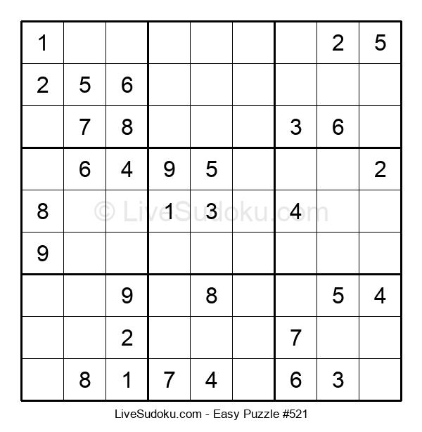 Beginners Puzzle #521