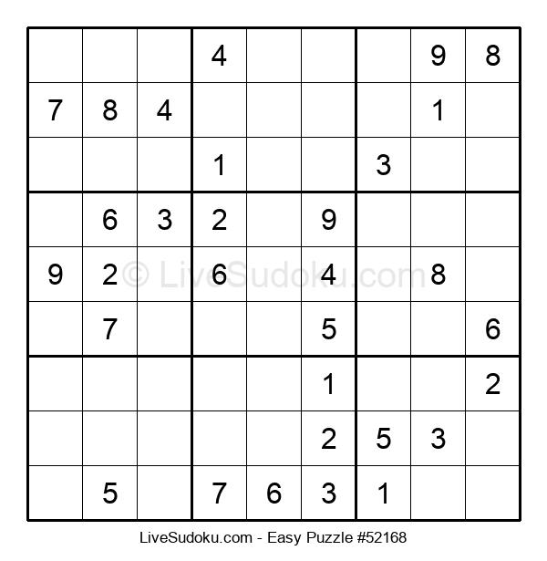 Beginners Puzzle #52168