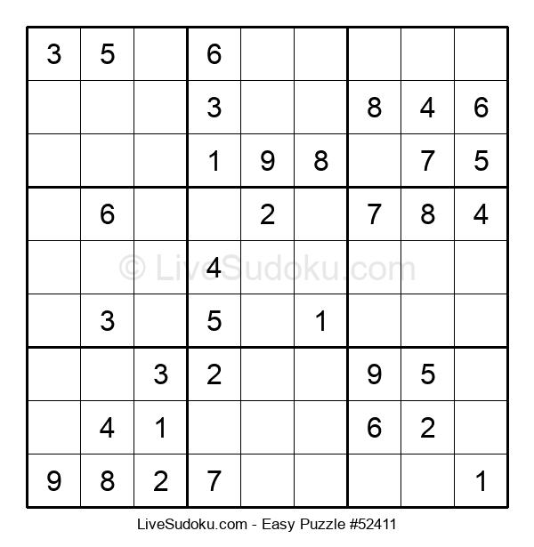 Beginners Puzzle #52411