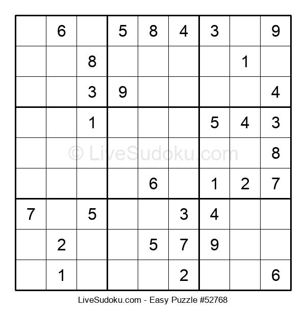 Beginners Puzzle #52768