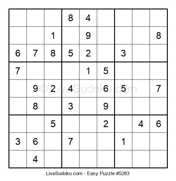 Beginners Puzzle #5283