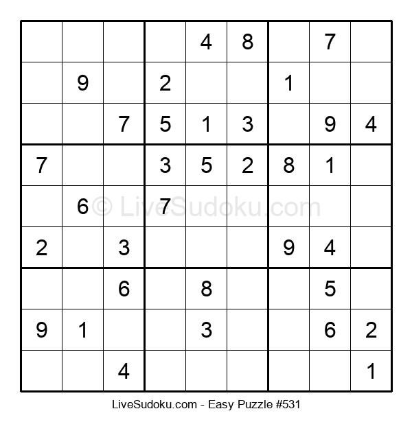 Beginners Puzzle #531