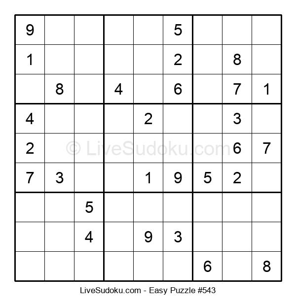 Beginners Puzzle #543