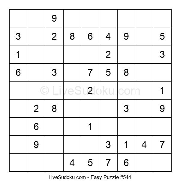 Beginners Puzzle #544