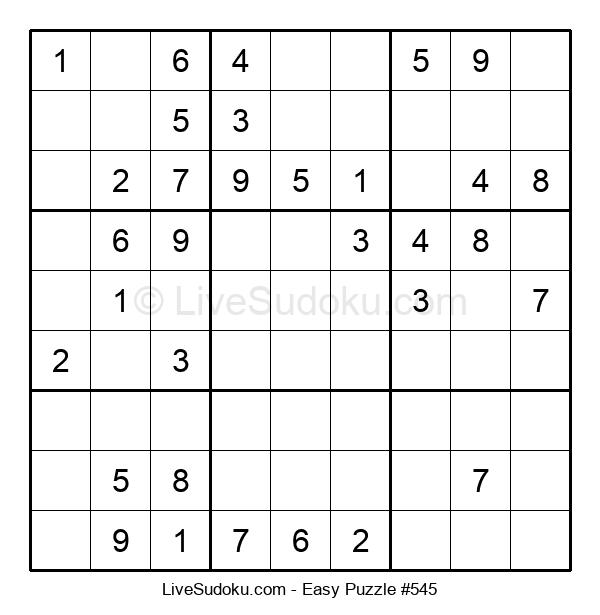 Beginners Puzzle #545