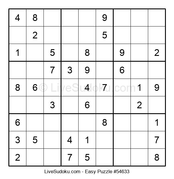 Beginners Puzzle #54633