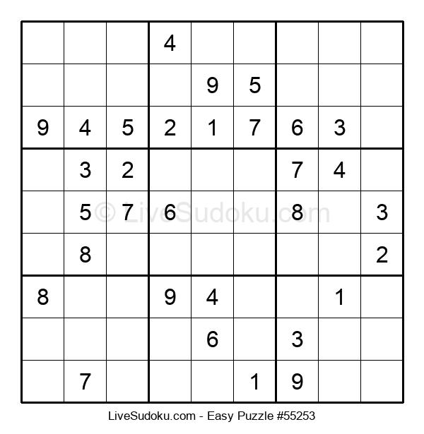 Beginners Puzzle #55253