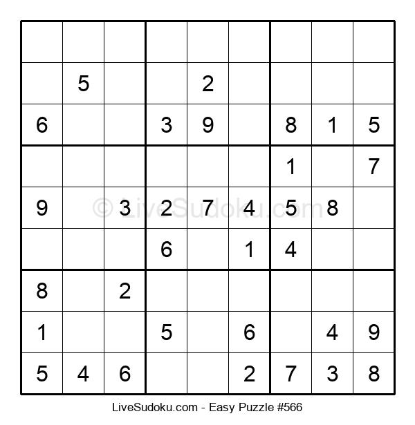 Beginners Puzzle #566