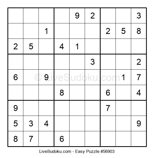 Beginners Puzzle #56903