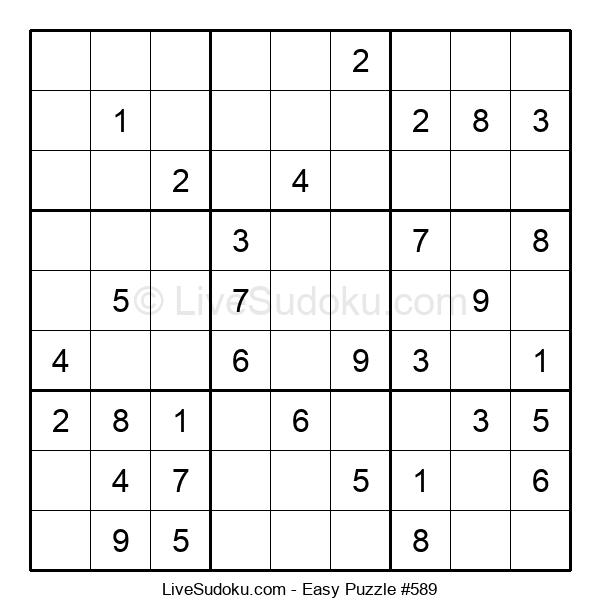 Beginners Puzzle #589