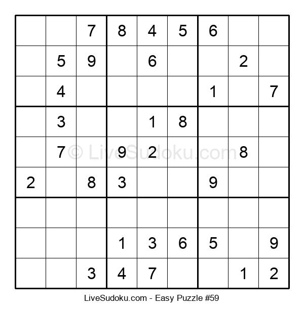 Beginners Puzzle #59
