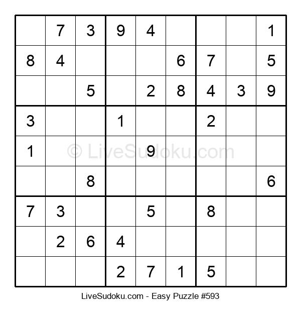 Beginners Puzzle #593