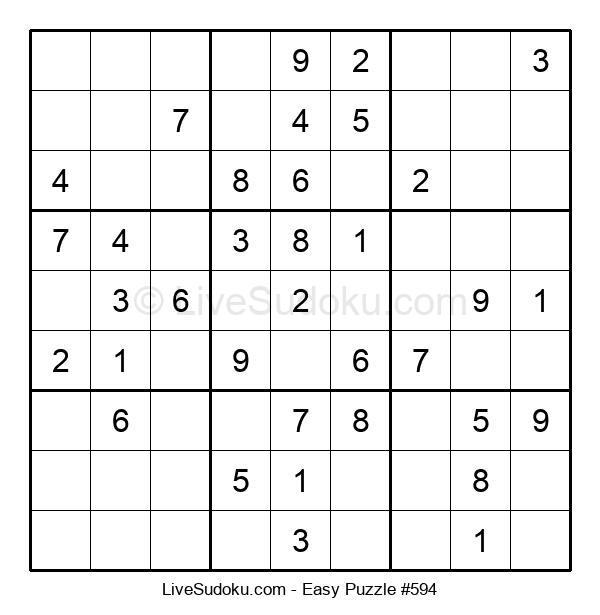 Beginners Puzzle #594