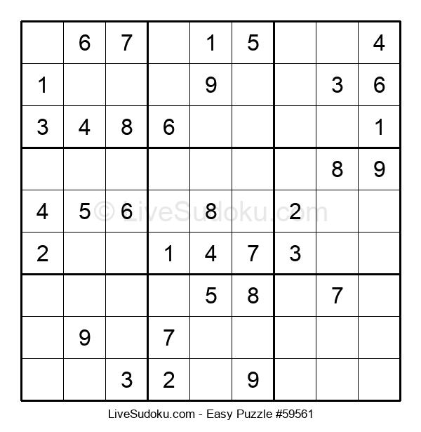Beginners Puzzle #59561