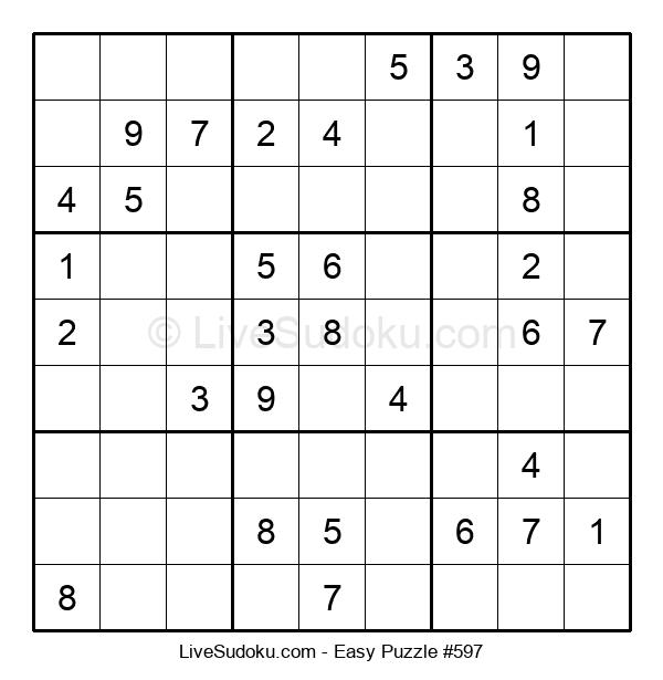 Beginners Puzzle #597