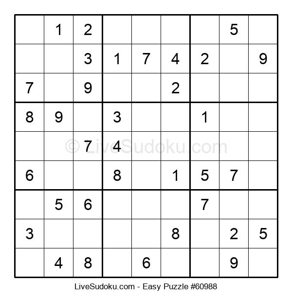 Beginners Puzzle #60988