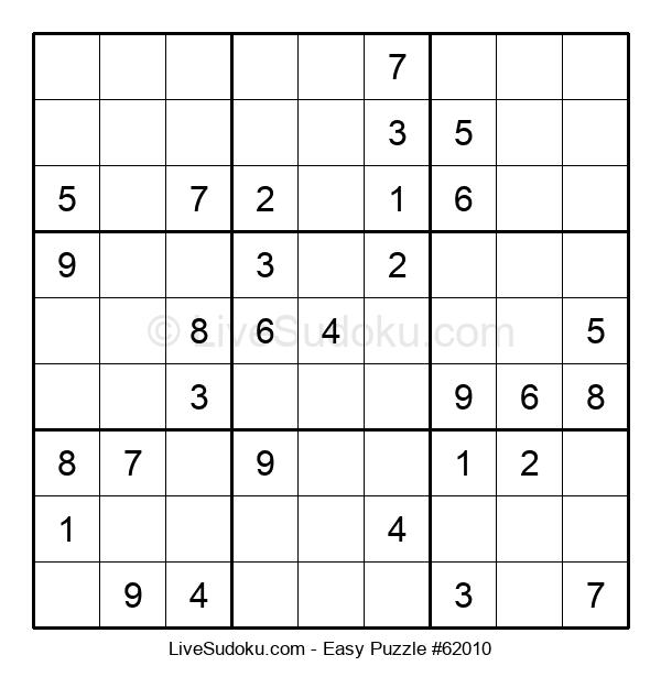 Beginners Puzzle #62010