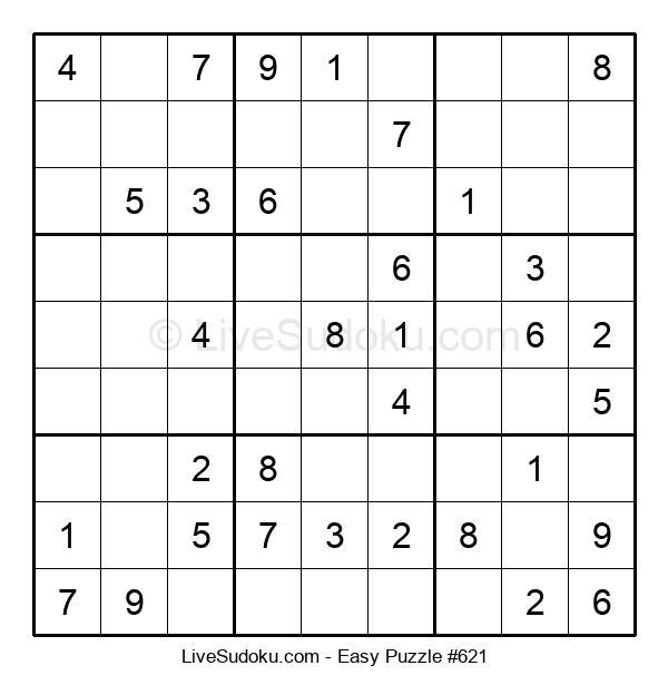 Beginners Puzzle #621
