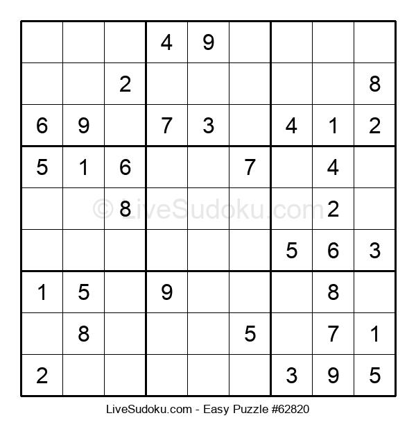 Beginners Puzzle #62820