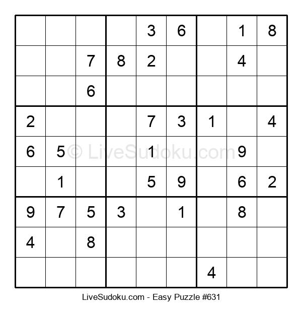 Beginners Puzzle #631