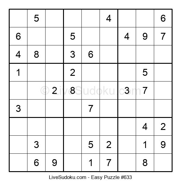 Beginners Puzzle #633