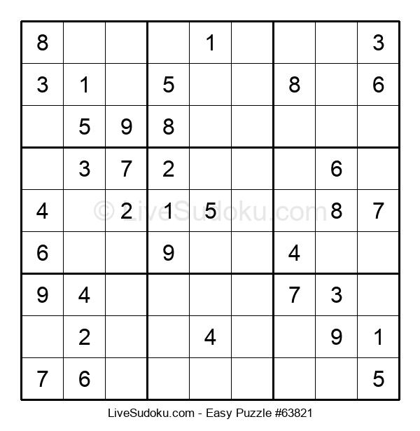 Beginners Puzzle #63821