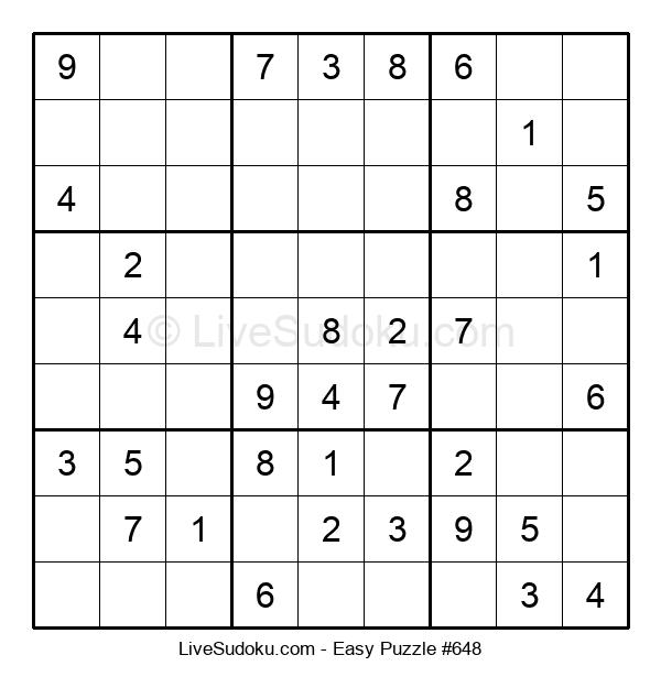 Beginners Puzzle #648