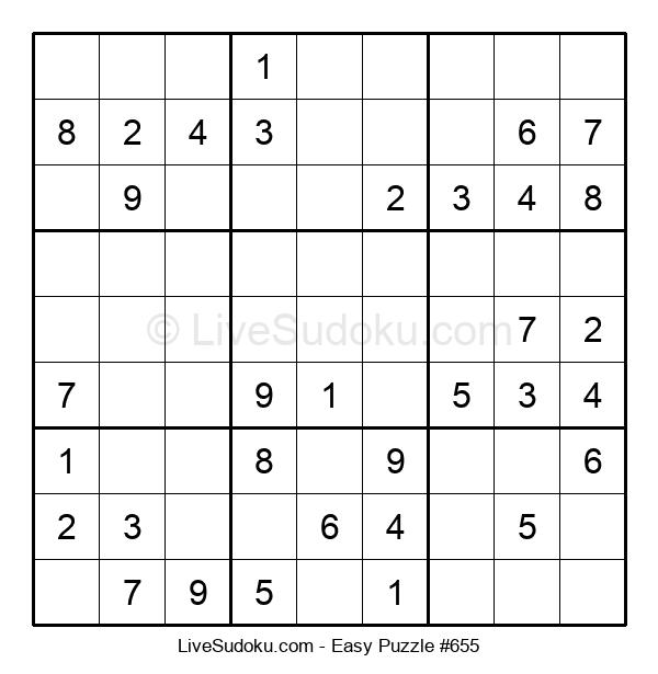Beginners Puzzle #655