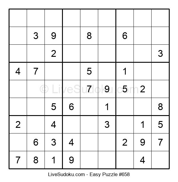 Beginners Puzzle #658