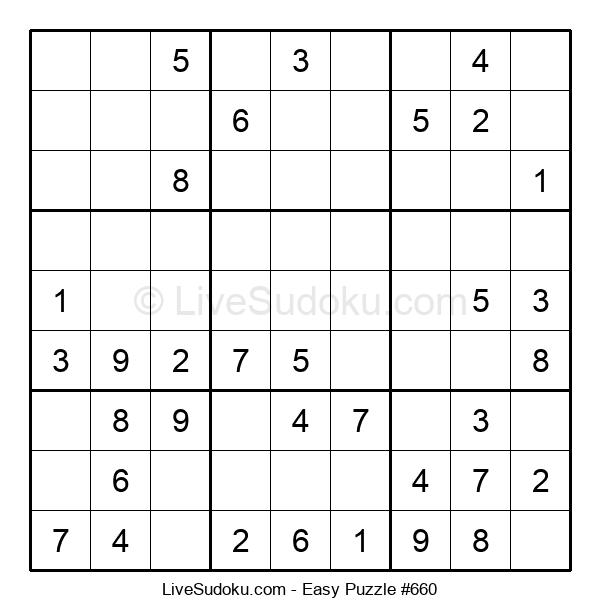 Beginners Puzzle #660