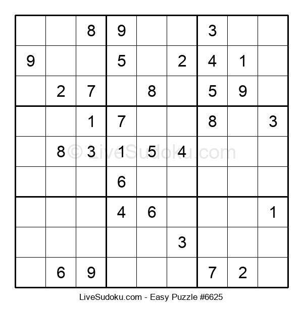 Beginners Puzzle #6625