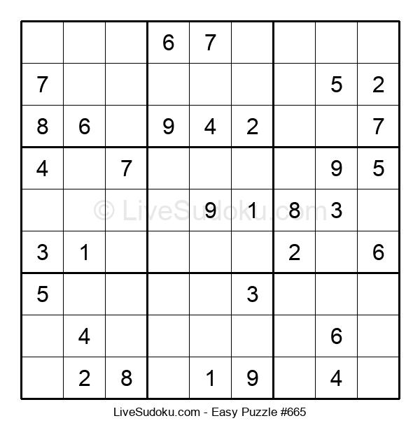 Beginners Puzzle #665