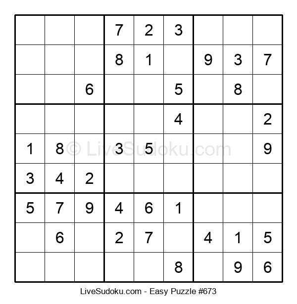 Beginners Puzzle #673