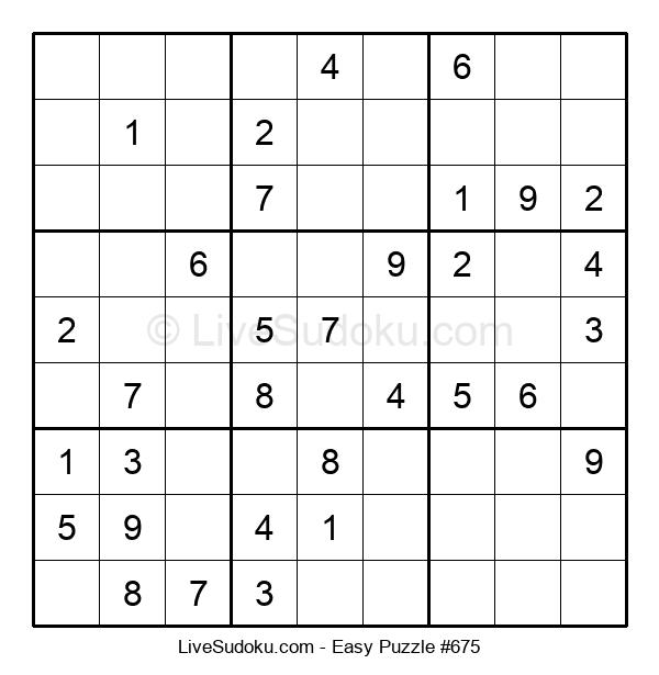 Beginners Puzzle #675