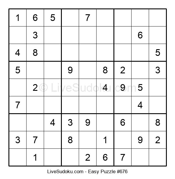 Beginners Puzzle #676