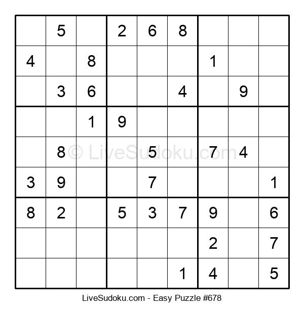 Beginners Puzzle #678