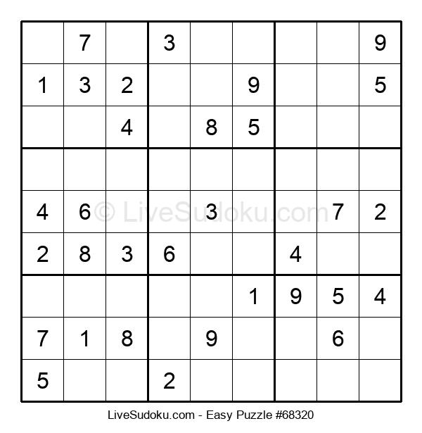 Beginners Puzzle #68320