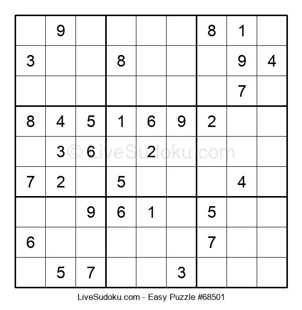 Beginners Puzzle #68501