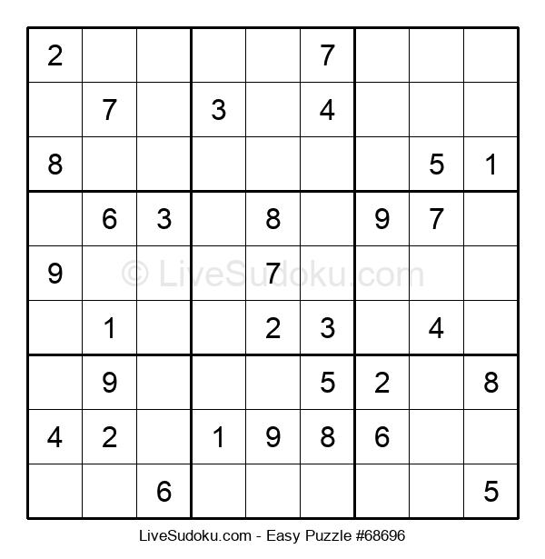 Beginners Puzzle #68696