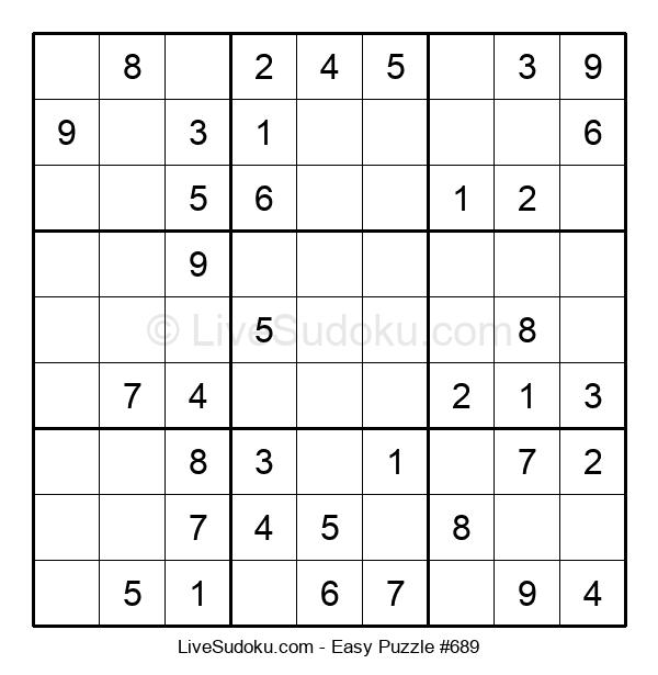 Beginners Puzzle #689