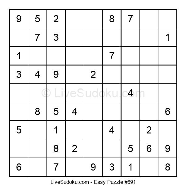 Beginners Puzzle #691