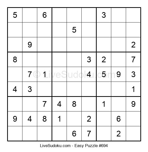 Beginners Puzzle #694