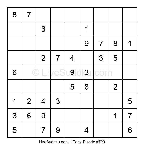 Beginners Puzzle #700