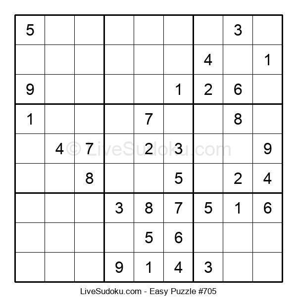 Beginners Puzzle #705
